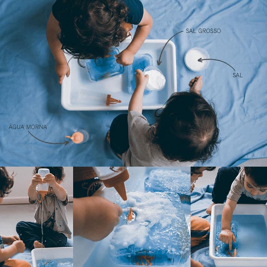 Brincadeira enxugar gelo - Brinquedo congelado