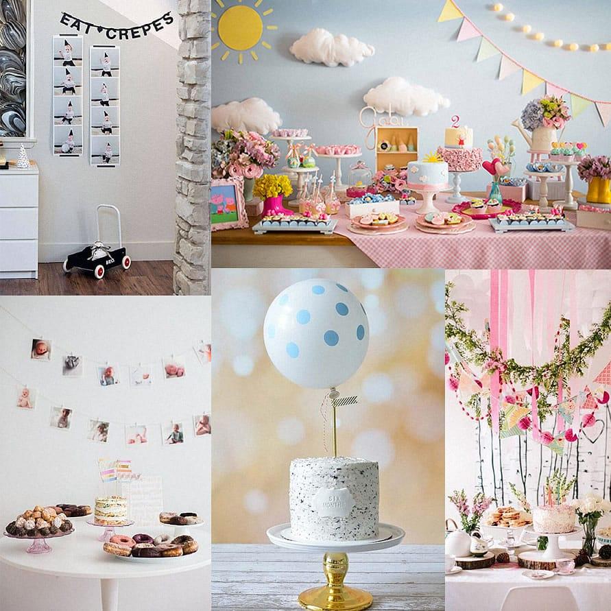 Fotos inspirações de festas mesversário