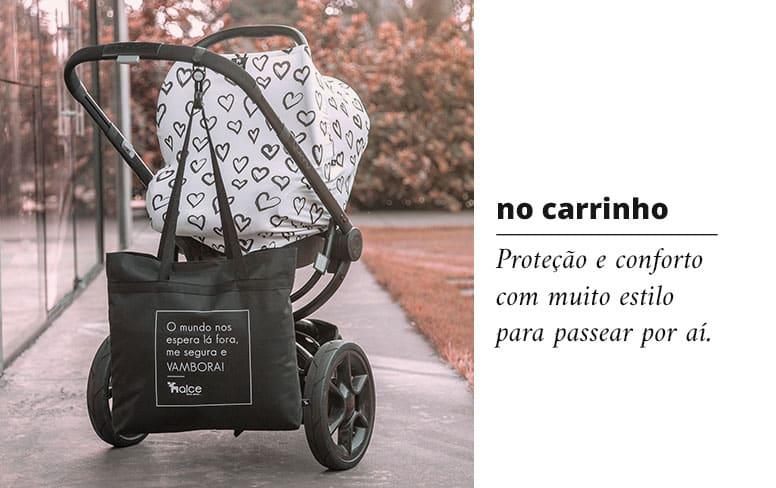 Capa multifuncional para carrinho proteção e conforto com muito estilo para passear por aí.